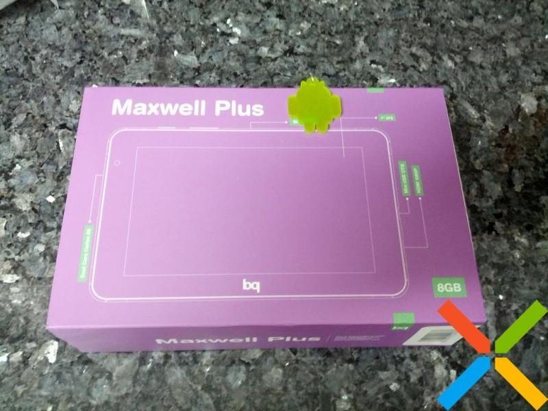 Video análisis de bq Maxwell Plus