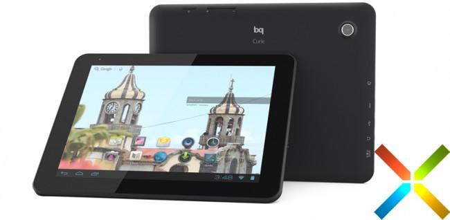 bq lanza su nueva tablet bq Curie