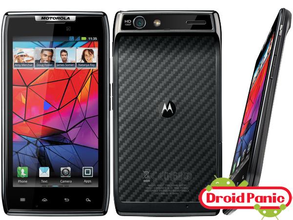 Actualización a Android 4.1 Jelly Bean de los Motorola Razr y Razr MAXX