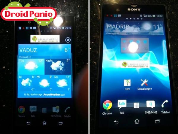 Presentación del Sony Xperia Z para el 15 de enero