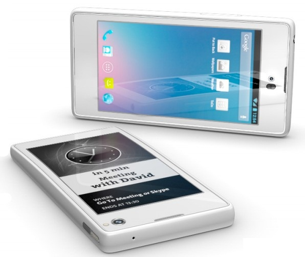 YotaPhone con pantalla doble… ¡Y una pantalla con E-Ink!