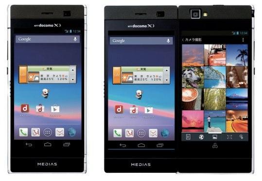 NEC presenta un Smartphone de 2 pantallas de 4,3 pulgadas