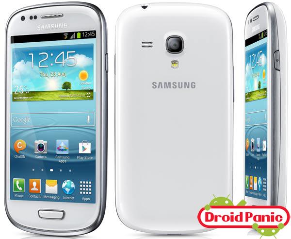 Samsung Galaxy SIII Mini ya se vende con Android 4.1.2