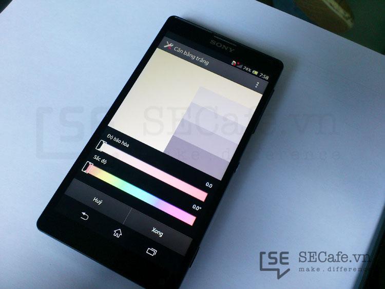 ¿Los Xperia Z y ZL con software para el calibrado de color de pantalla?