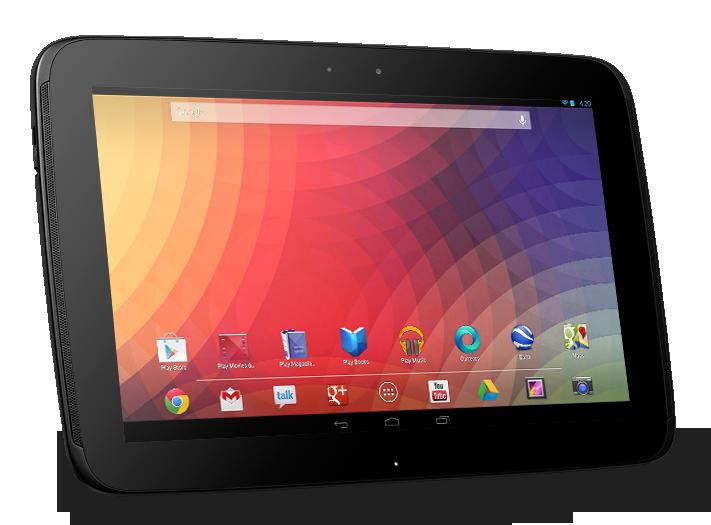 Disponible stock del Nexus 10
