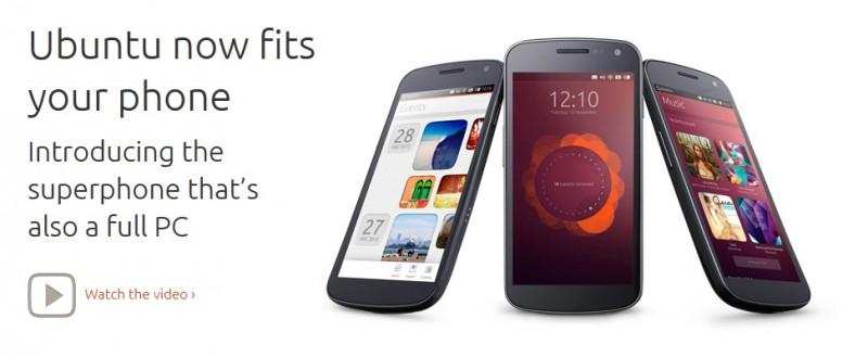 Comparación de Ubuntu for Phones con Jelly Bean