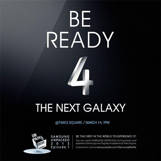 ¿Queréis ver en directo lo que pasa en la presentación del Samsung Galaxy SIV?