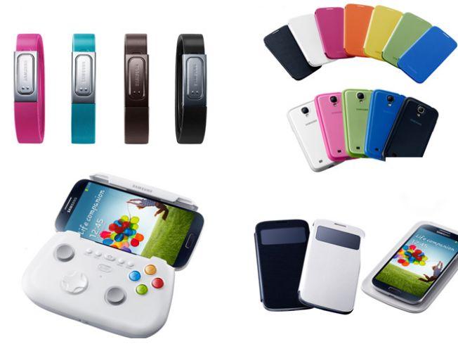 Anunciadas las fechas y precios de los accesorios del Samsung Galaxy S4