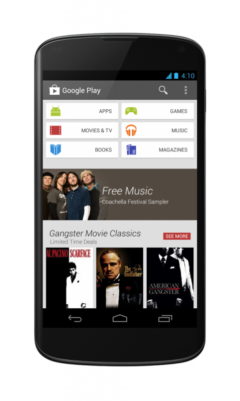 Ya ha empezado a llegar el nuevo Google Play Store