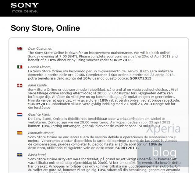 ¡Sony regala un 10% de descuento hasta el 23 de abril solo en Europa!