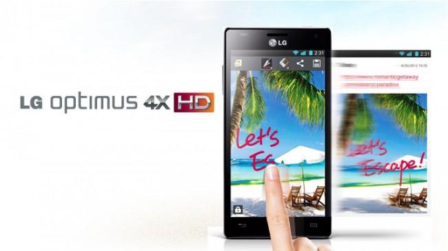 LG Optimus 4X HD se actualiza a Android 4.1 Jelly Bean en Europa
