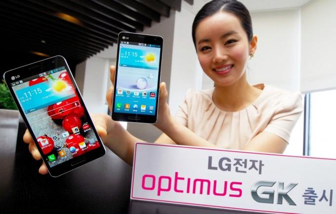 LG presenta su nuevo Optimus GK