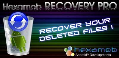 ¿Quieres recuperar los archivos borrados de tu smartphone? Entra y descubre como hacerlo