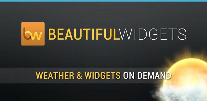 Beautiful Widgets gratis en Google Play