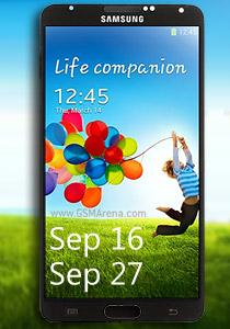 Galaxy Note 3 en preventa a partir del 16 de Septiembre y venta el 27