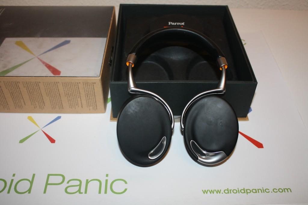 Análisis de los auriculares Bluetooth y NFC Parrot Zik, un regalo de los dioses para tus oídos