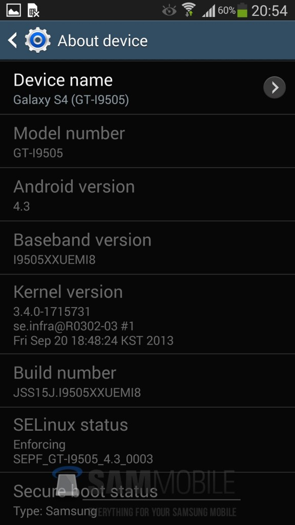 [TUTORIAL] Instala la ROM Android 4.3 I9505XXUEMI8 filtrada para Samsung Galaxy S4