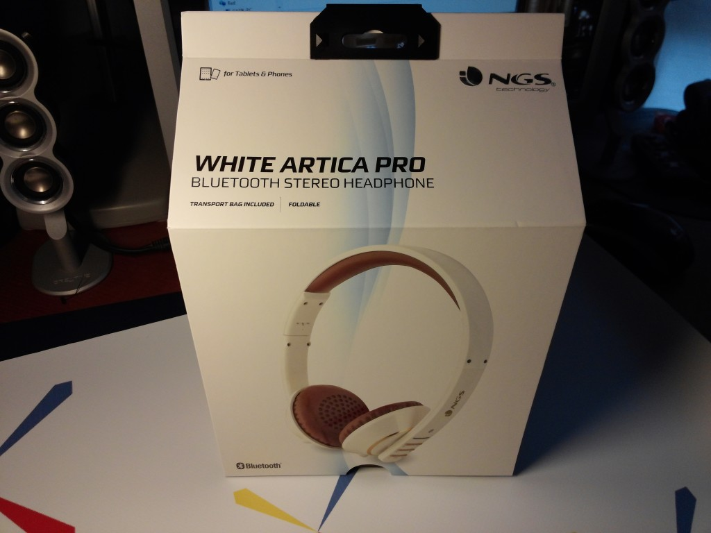 Review de los auriculares bluetooth NGS White Artica Pro