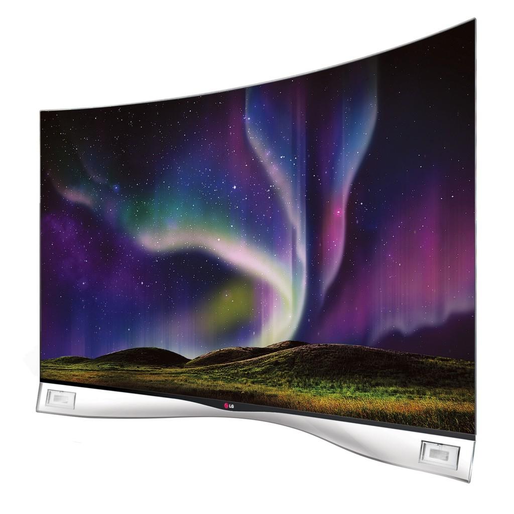 LG lanza en España un televisor con pantalla OLED curva