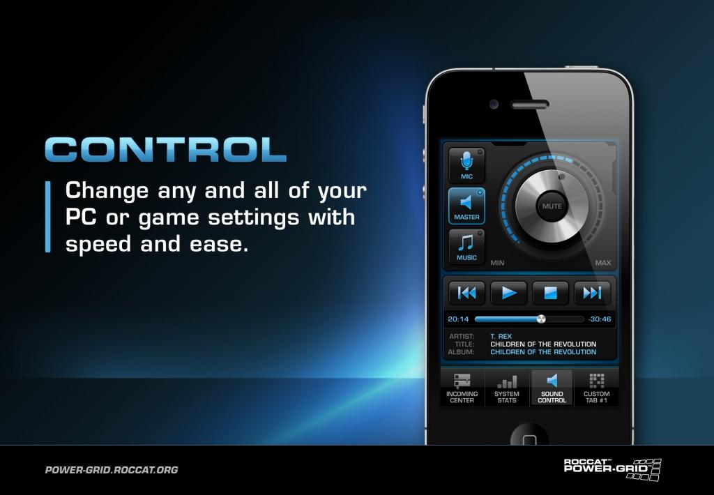 Roccat Power-Grid,  Un mando a distancia para tu ordenador