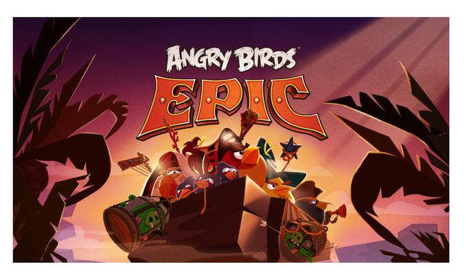 Angry Birds Epic, la nueva aventura de Rovio