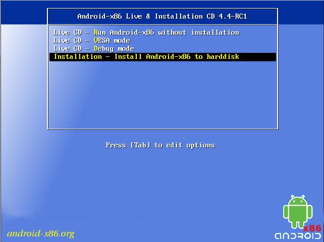 [TUTORIAL] Instala Android 4.4 KitKat en tu ordenador