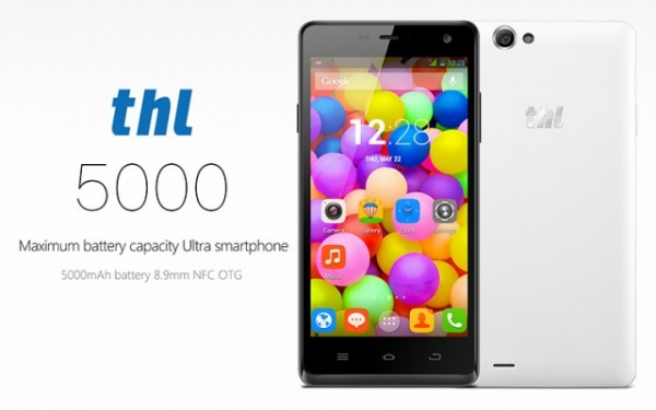 THL 5000, un teléfono que nos servirá como batería externa