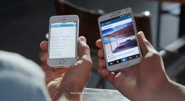 De nuevo Samsung ataca a Apple [Vídeo]