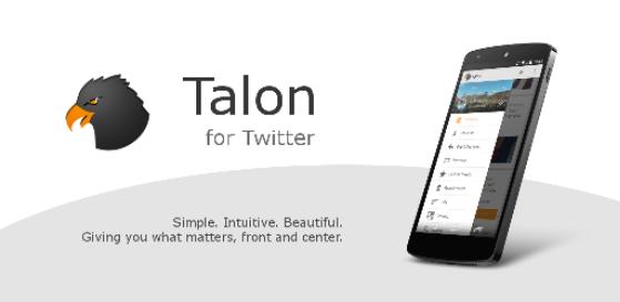 [APLICACIÓN] Talon para Twitter, un punto de vista diferente de la red social de moda
