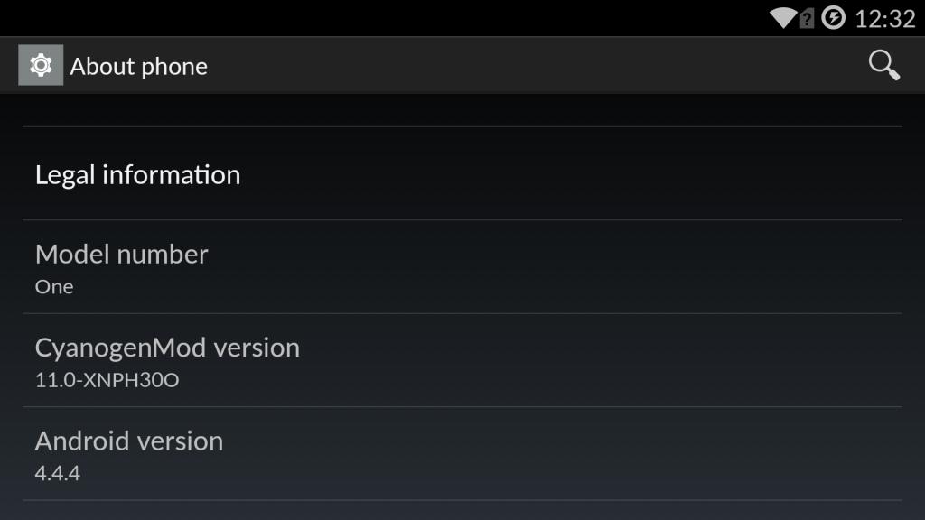 OnePlus One se actualiza a 4.4.4 de manera oficial