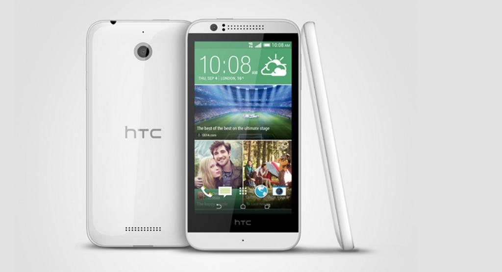 HTC Desire 510, el terminal económico con 4G y con chip de 64 Bits de la firma taiwanesa.