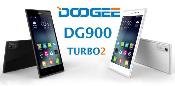 Doogee DG900 Turbo 2 disponibles en blanco y negro