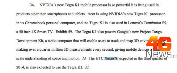 El supuesto Nexus 9 de HTC a descubrirse el 8 de octubre