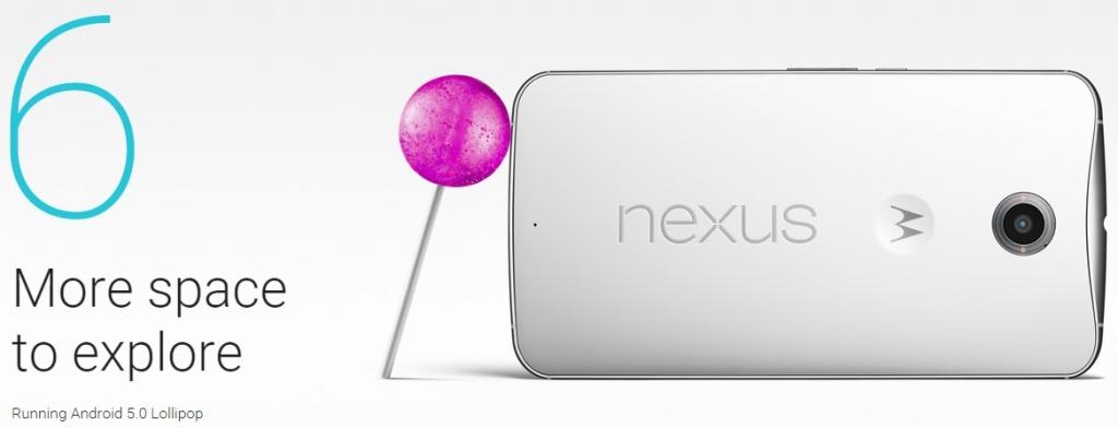 OFICIAL: Nexus 6 y sus temidas 6 pulgadas
