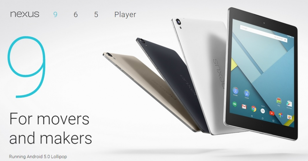 Nexus 9, la nueva tablet de la familia Nexus