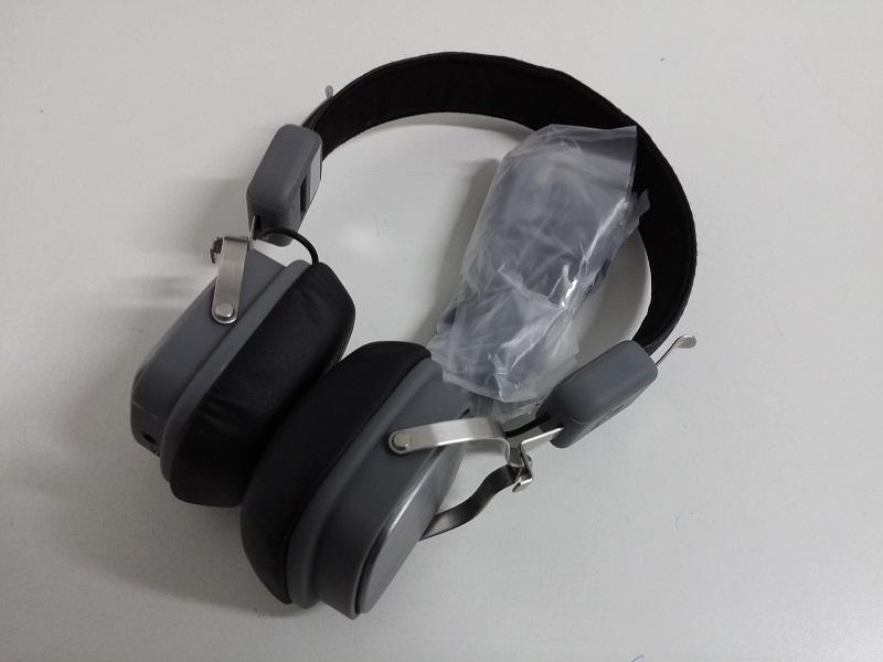 Ngs Gray Artica Supra Unos Cascos Bluetooth De Gran