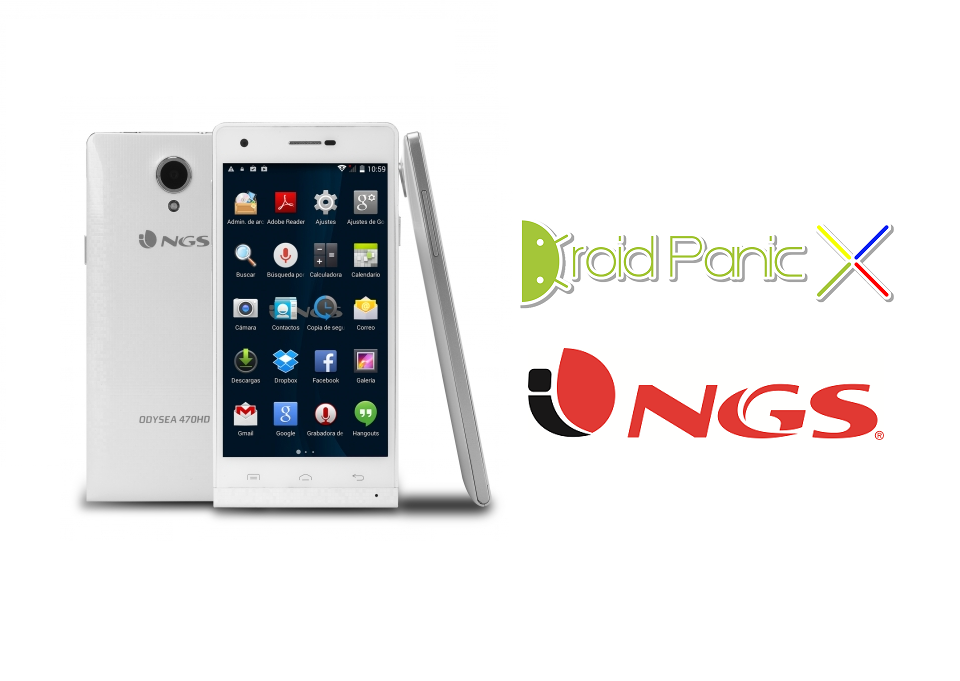 Analizamos el NGS Odysea 470HD, un smartphone con estilo