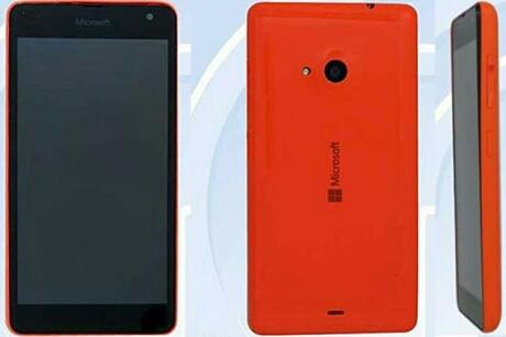 ¡Cazado! El primer smartphone de Microsoft asoma la patita desde china