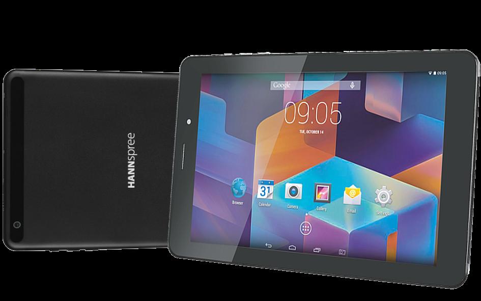 HANNspree presenta la HANNSPAD 8″ 3G HD W71B para Navidad