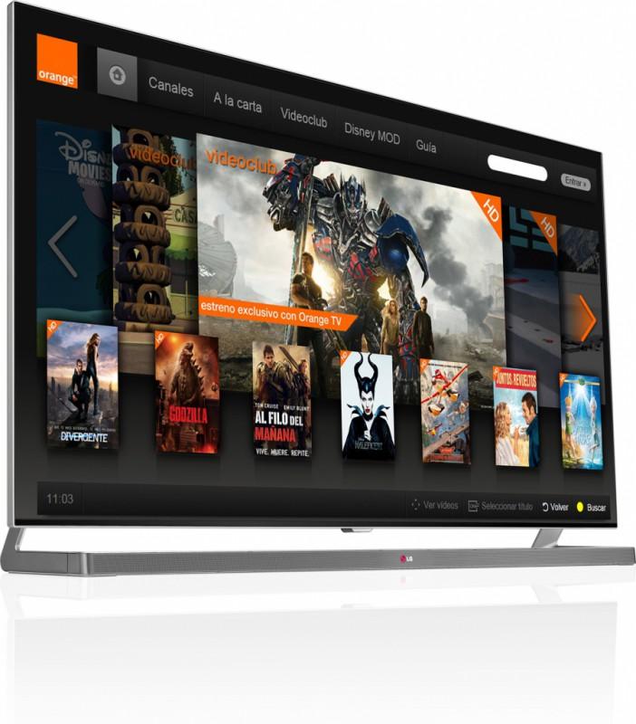 La aplicación Orange TV disponible en las Smart TV de LG