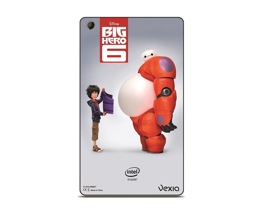 Vexia y Disney de la mano con la tablet Vexia tab 8i Hero