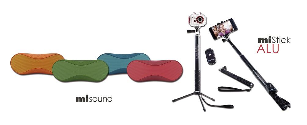 Wolder lanza la familia de accesorios miSound y miStick