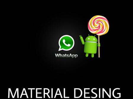 Cambia el aspecto de Whatsapp a Material Desing con este sencillo mod