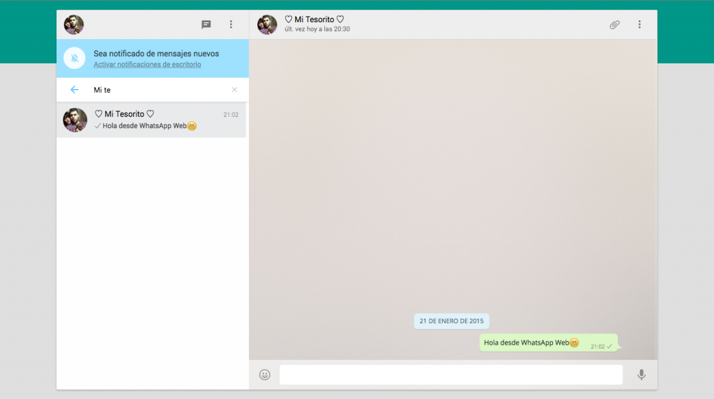Descarga la última versión de WhatsApp para usar WhatsApp Web