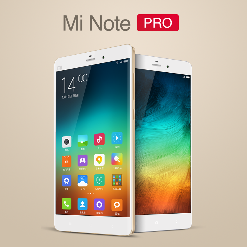 Xiaomi se hace grande… con el Mi Note y Mi Note Pro
