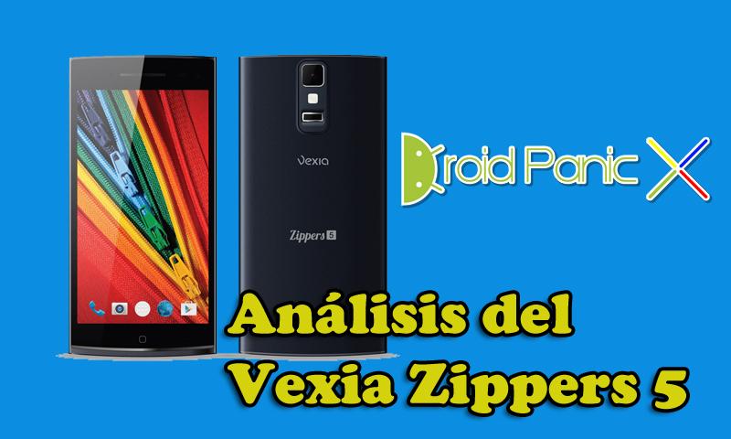 Análisis del smartphone más potente de Vexia, el Vexia Zippers 5