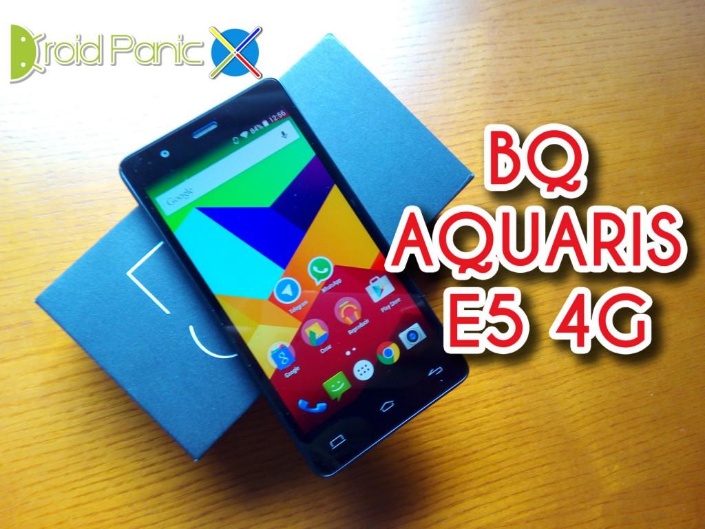bq Aquaris E5 4G, ¿gama media? ¿Dónde?