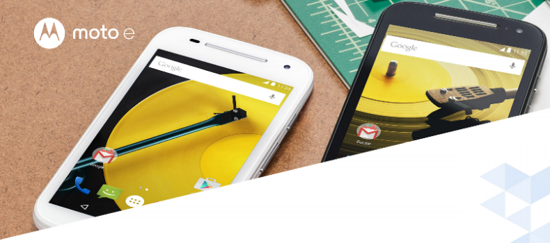 Motorola rompe de nuevo la gama baja. El Moto E 2015 con 4G ya está aquí