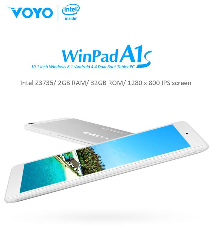 Descuentazo: Voyo WinPad A1s, ¿quieres Windows? ¡Pues toma Android también!
