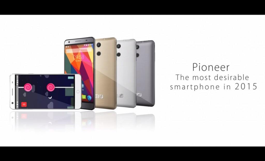 Impresionante Elephone P7000 Pioneer, ahora con vídeo promocional